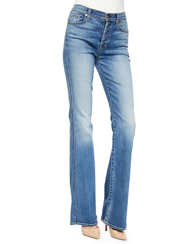 High-Waist Vintage Boot-Cut Jeans, Sloan Heritage Medium Light