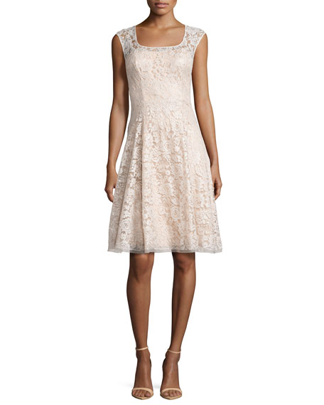 Kay Unger New York Sleeveless Swing Dress with