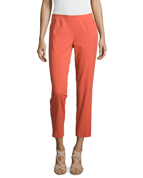 Lafayette 148 New York Bleecker Cropped Pants, Flare