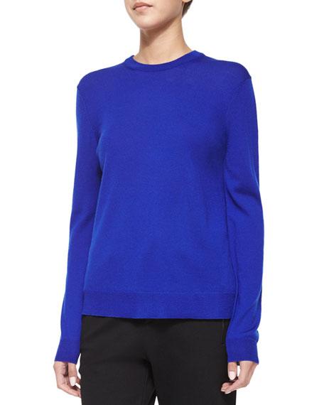 McQ Alexander McQueen Crewneck Sweater Top W/ Printed