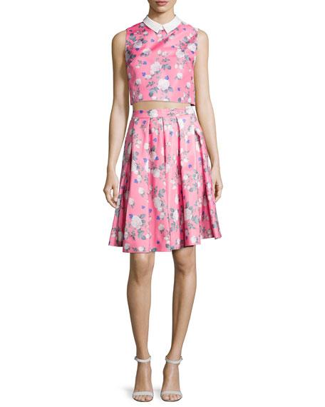 Josephine Floral-Print Skirt