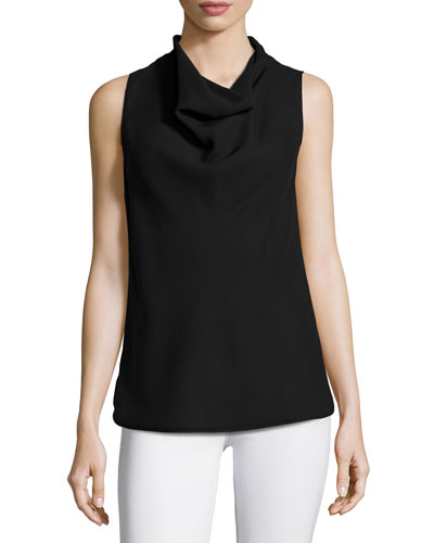 Trish Cowl-Neck Blouse