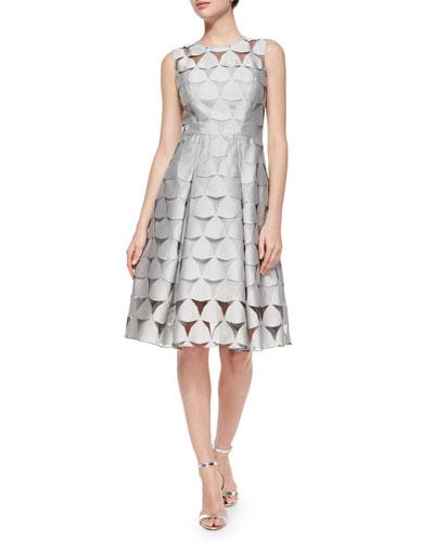 Katia Prisim Fil Coupe Dress