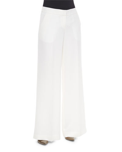 Modern Wide-Leg Pants, Cloud