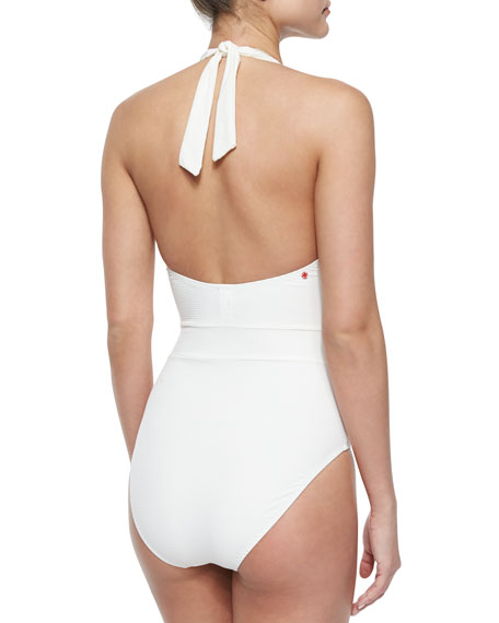Neo Bohemia Halter One-Piece Swimsuit