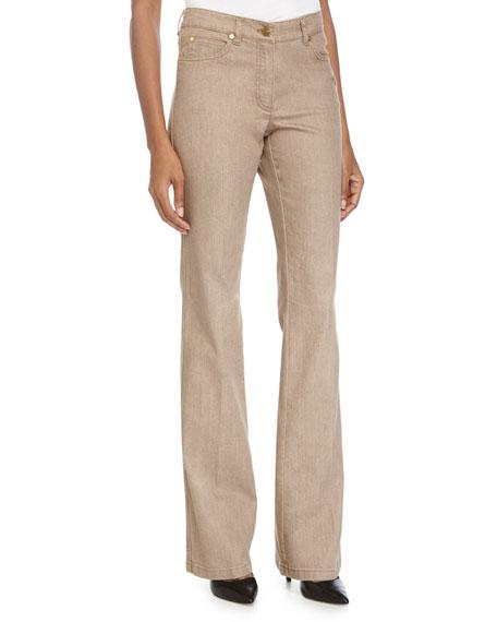 High-Rise Boot-Cut Jeans, Savannah