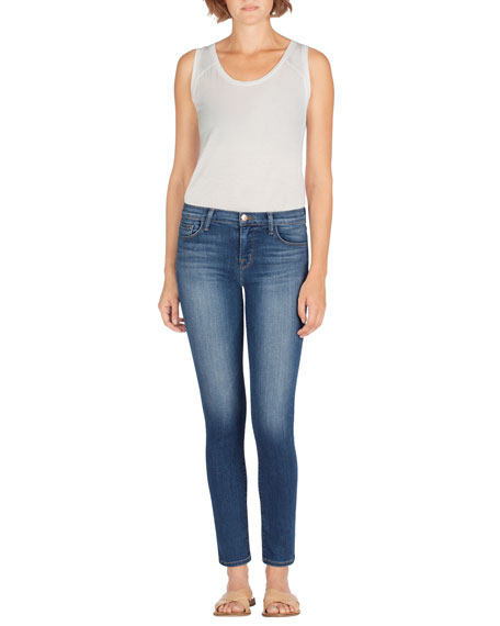 Image 2 of 4: Skinny Mid-Rise Ankle Jeans, Imagine