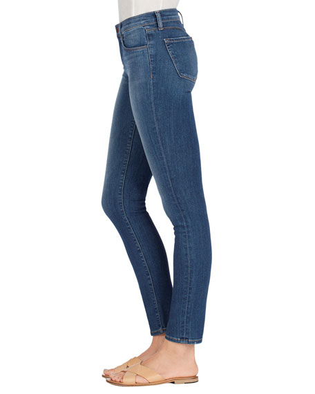 Image 3 of 4: Skinny Mid-Rise Ankle Jeans, Imagine