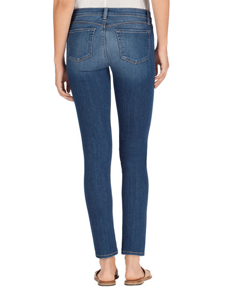 Skinny Mid-Rise Ankle Jeans, Imagine