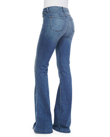 High-Rise Flare Jeans, Ashbury