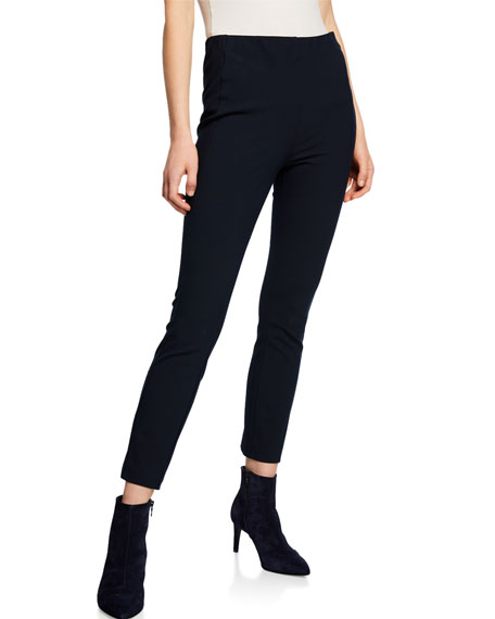 Rag & Bone Simone Stretch Ankle Pants, Black