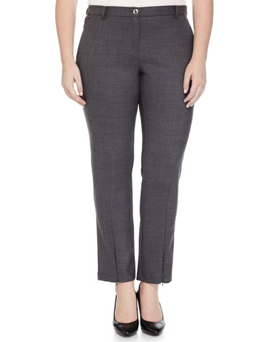 Stretch Crepe Slim Pants, Women