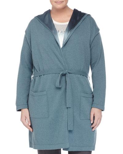 Madera Knit Jacket W/ Silk Lining, Women's