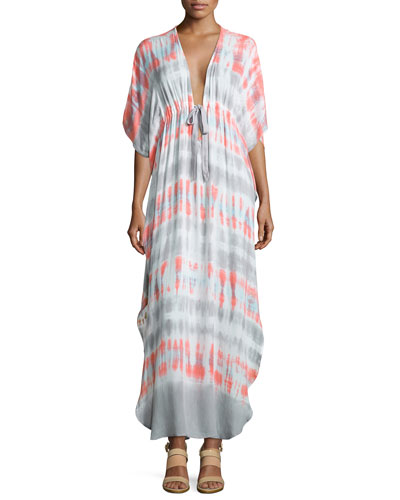 Julie Tie-Dye Lightweight Maxi Dress