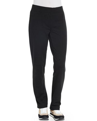Jersey Skinny Pants, Black
