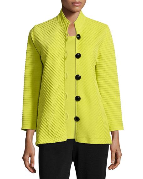 Caroline Rose Wool Ottoman Easy Jacket, Women's