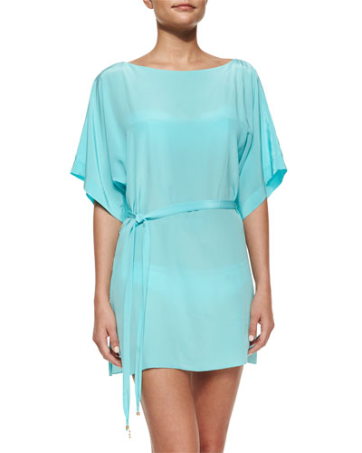 Serena Solid Tunic Coverup