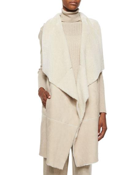 Lafayette 148 New York Carolina Lamb Fur Vest