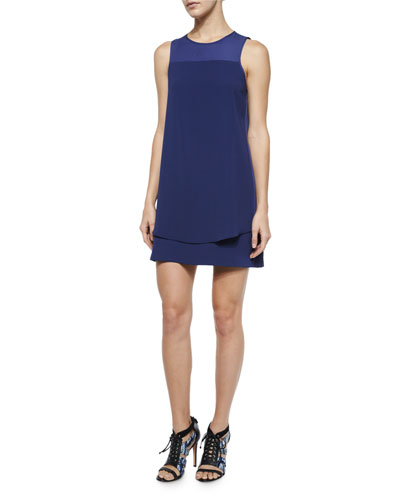 Armada Sleeveless Combo Dress, Polaris