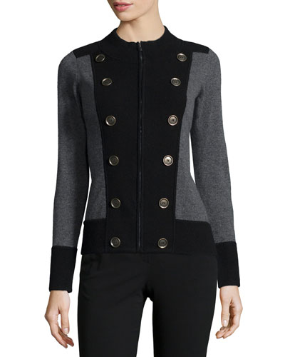 Cashmere Military Jacket