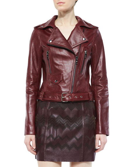 Belfast leather jacket