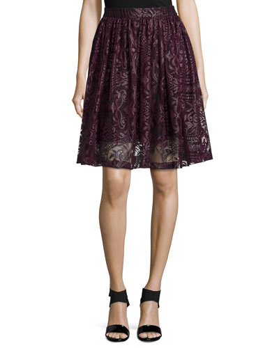 Rockies A-Line Skirt, Allure
