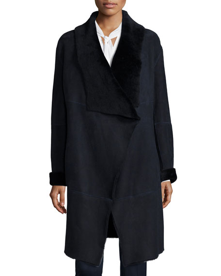 Lafayette 148 New York Felice Seamed Lamb Fur