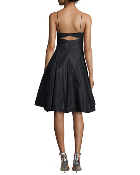 Sleeveless Fit & Flare Cocktail Dress