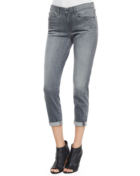 Vince Mason Relaxed-Fit Denim Jeans, Rosewood