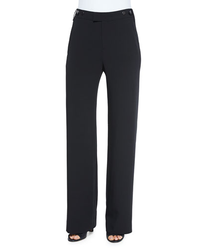 Vince Stretch Wide-Leg Trousers