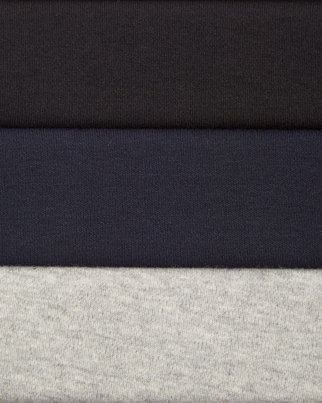 Joan Vass Four-Pocket Cotton Interlock Jacket