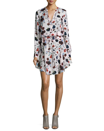Alc Clothing Brand The Way Floral Print Dress
