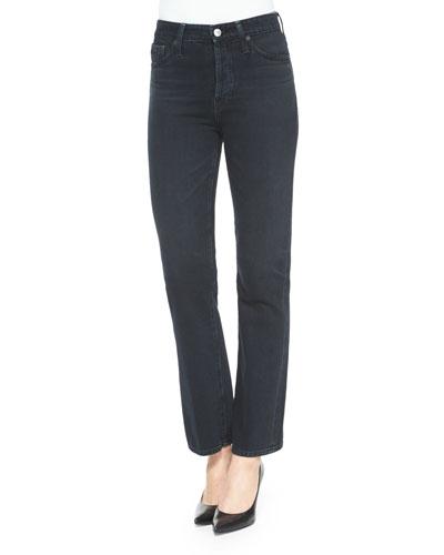 Revolution Boot-Cut Jeans, Sloe Black
