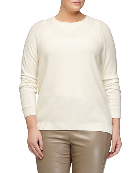 Marina Rinaldi Agente Wool-Blend Sweater, Plus Size