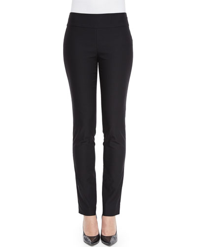 Slim Wonderstretch Pants, Black, Women's