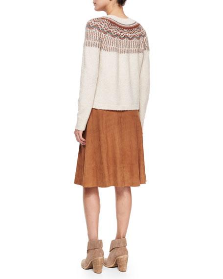 Joie Jehannon Fair Isle Sweater