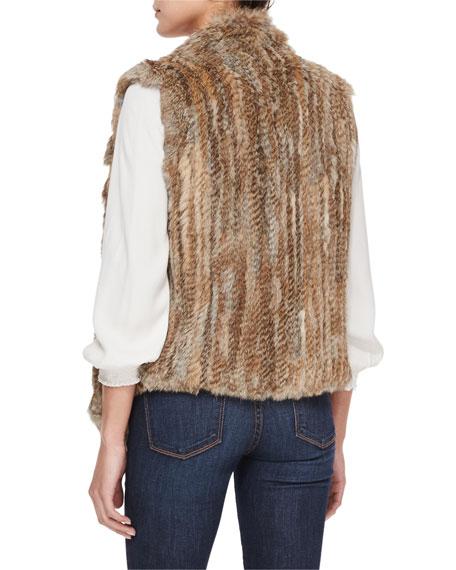 Andoni Rabbit Fur Vest