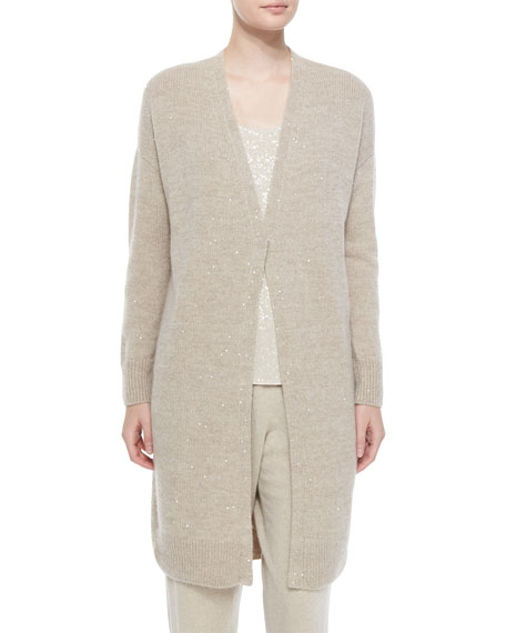 Lafayette 148 New York Cashmere-Blend Duster Cardi W/
