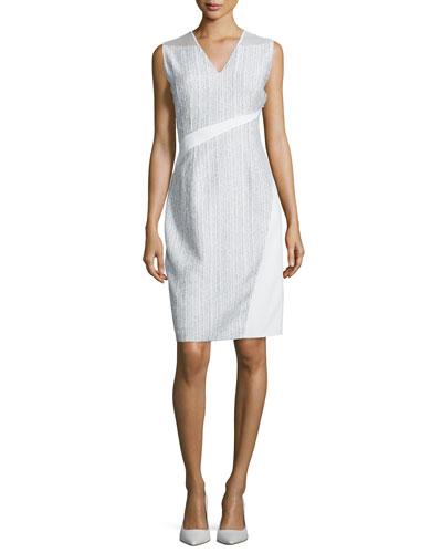 Sarafina Sleeveless Sheath Dress