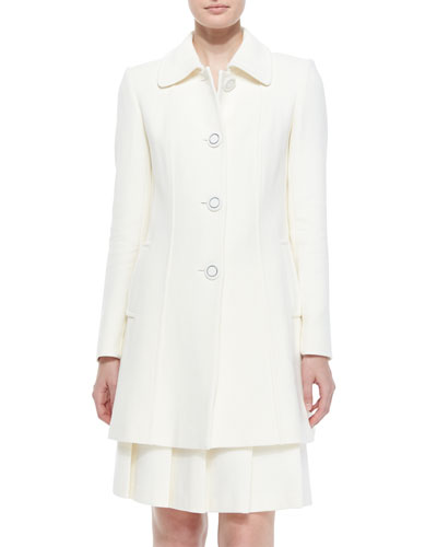 Bettina Wool-Blend Coat