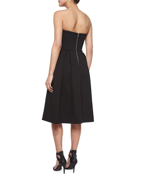 Strapless Ball Dress, Black