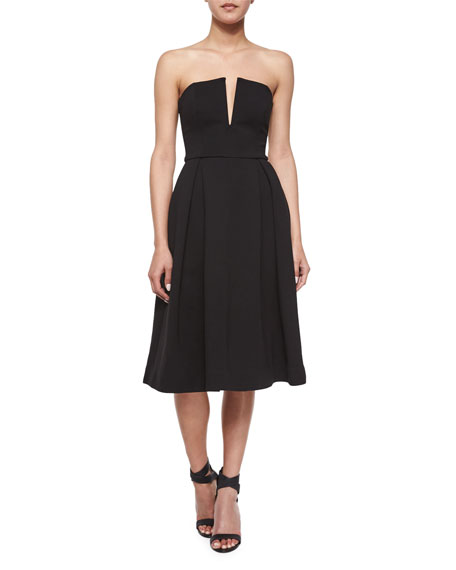 Nicholas Strapless Ball Dress, Black