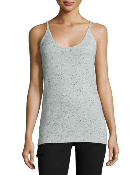 ATM Donegal Speckled Cashmere Knit Camisole