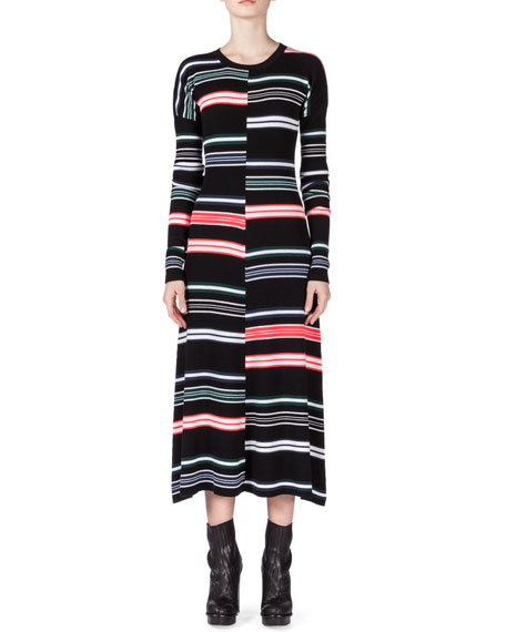 Outlet For Cheap Kenzo striped sweater dress Discount Geniue Stockist Inexpensive Sale Online Cheap Sale Best Store To Get Cheap Best FR6lsMLX