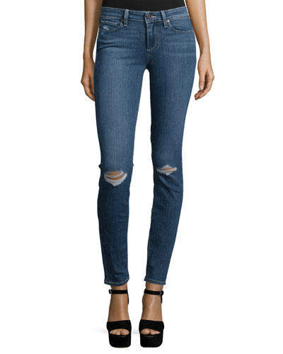 Verdugo Ultra Skinny Jeans, Quinnley Destructed