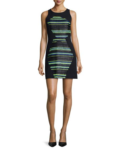 MillyCouture Striped Shift Dress