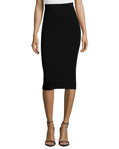 Structured Fitted Skirt