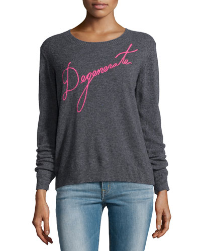 Degenerate Cashmere Pullover