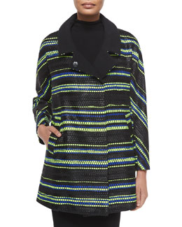 Eldridge Couture Stripe Coat