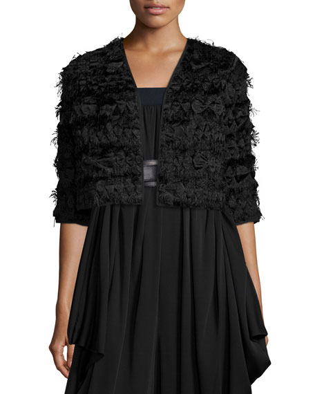 Milly Fringe Cropped Bolero
